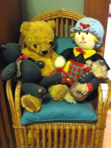 Family history lesson, Ted and Molly, Greengrass and Postie Bear